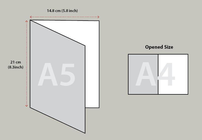 2 Fold Brochure - Small [A5]